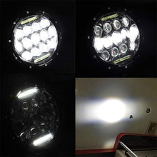 "Load image into Gallery viewer, 7"" 75W CREE LED Headlights With DRL For 1998-2020 Jeep Wrangler JK/TJ/JL"