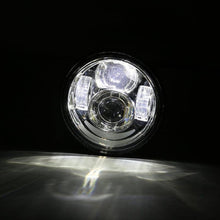 "Load image into Gallery viewer, 4.65"" inch Dual LED Headlights with DRL For Motorcycle Dyna Fat Bob"