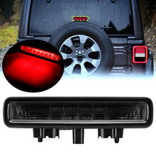 Load image into Gallery viewer, Smoke Lens LED 3rd Brake Light Third High Mount Stop Light Red for Jeep Wrangler JL