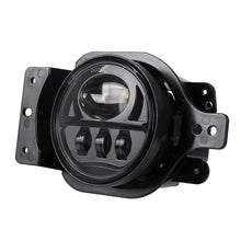 "Load image into Gallery viewer, 4"" Inch Front Bumper LED Fog Lights with Mount Bracket For Jeep Wrangler JL 2018-2019"