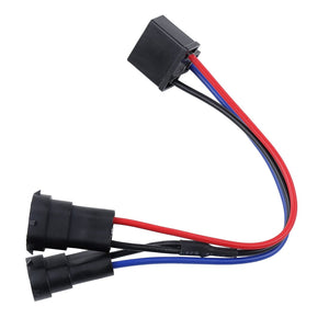 H4 to H9 H8 H11 Wire Harness Adapters Splitter Harness For Dual Beam Headlights Motorcycle