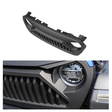 Load image into Gallery viewer, Black Bumper Mesh Grille For 2018-2020 Jeep Wrangler JL & Jeep Gladiator JT