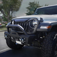 Load image into Gallery viewer, Diamondback Series Black Mesh Grille For 2018-2020 Jeep Wrangler JL & Jeep Gladiator JT