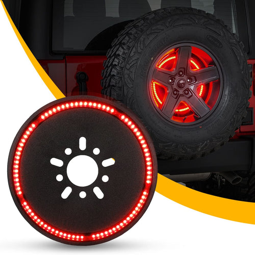 Spare Tire Brake Light for 2018 2019 Jeep Wrangler JL JLU