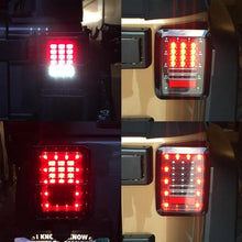 Load image into Gallery viewer, Clear Lens LED Tail Light Taillights Assembly For Jeep Wrangler JK JKU 2007 - 2018 (US Version)