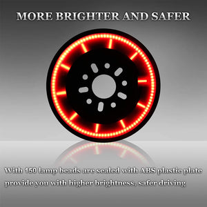 Jeep Wrangler Spare Tire 3rd Brake Light for Wrangler JK JKU 2007-2017 (Plug & Play)