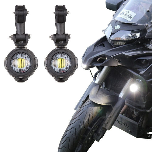 40W LED Auxiliary Lamp Fog Driving Lights For Motorcycle BMW R1200GS F800GS K1600