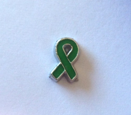 Green Awareness Ribbon - Stoney Creek Charms