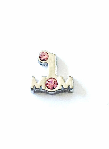 #1 Mom Charm - Stoney Creek Charms