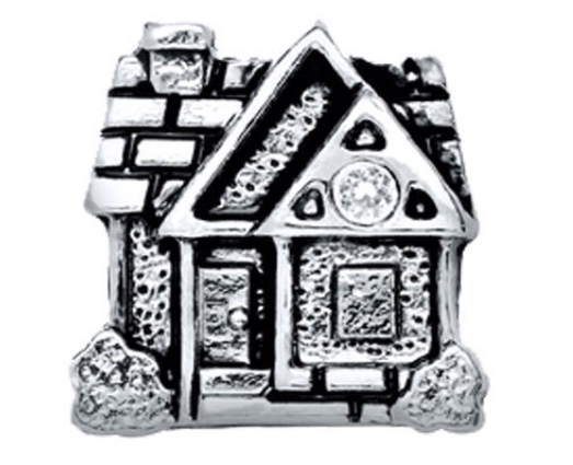 Cabin floating charm - Stoney Creek Charms
