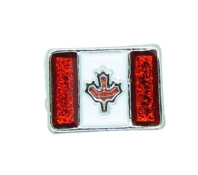 Canadian Flag Floating Charm - Stoney Creek Charms