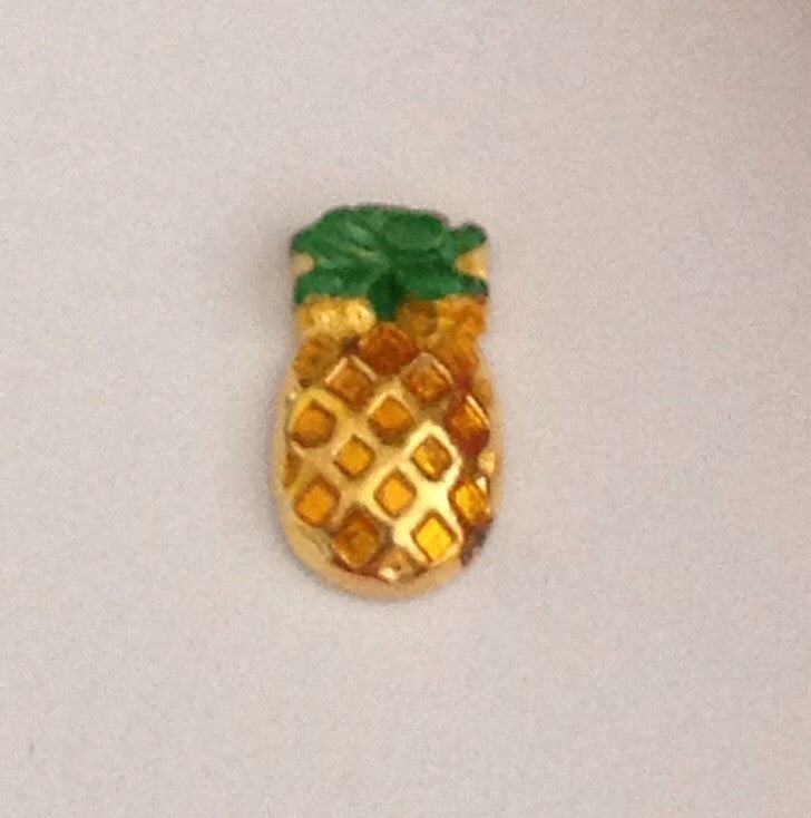 Pineapple Floating Charm - Stoney Creek Charms