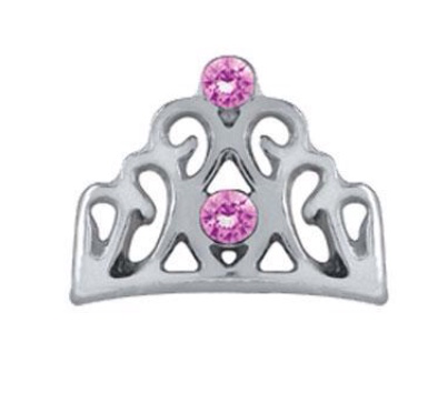 Crown Floating Charm - Stoney Creek Charms