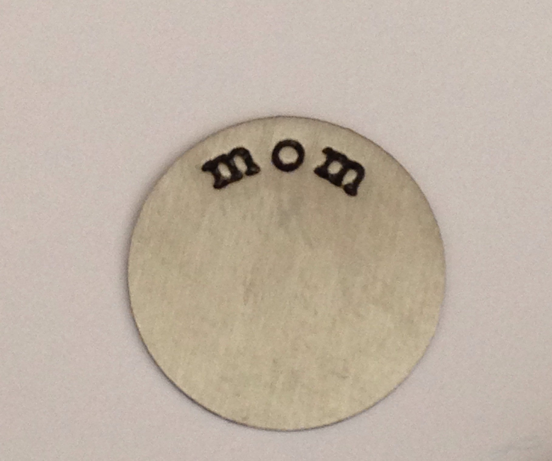 Mom Floating Locket Plate
