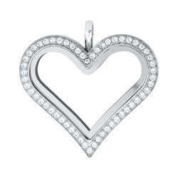 Heart Floating locket