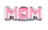 Pink Mom Floating Charm - Stoney Creek Charms