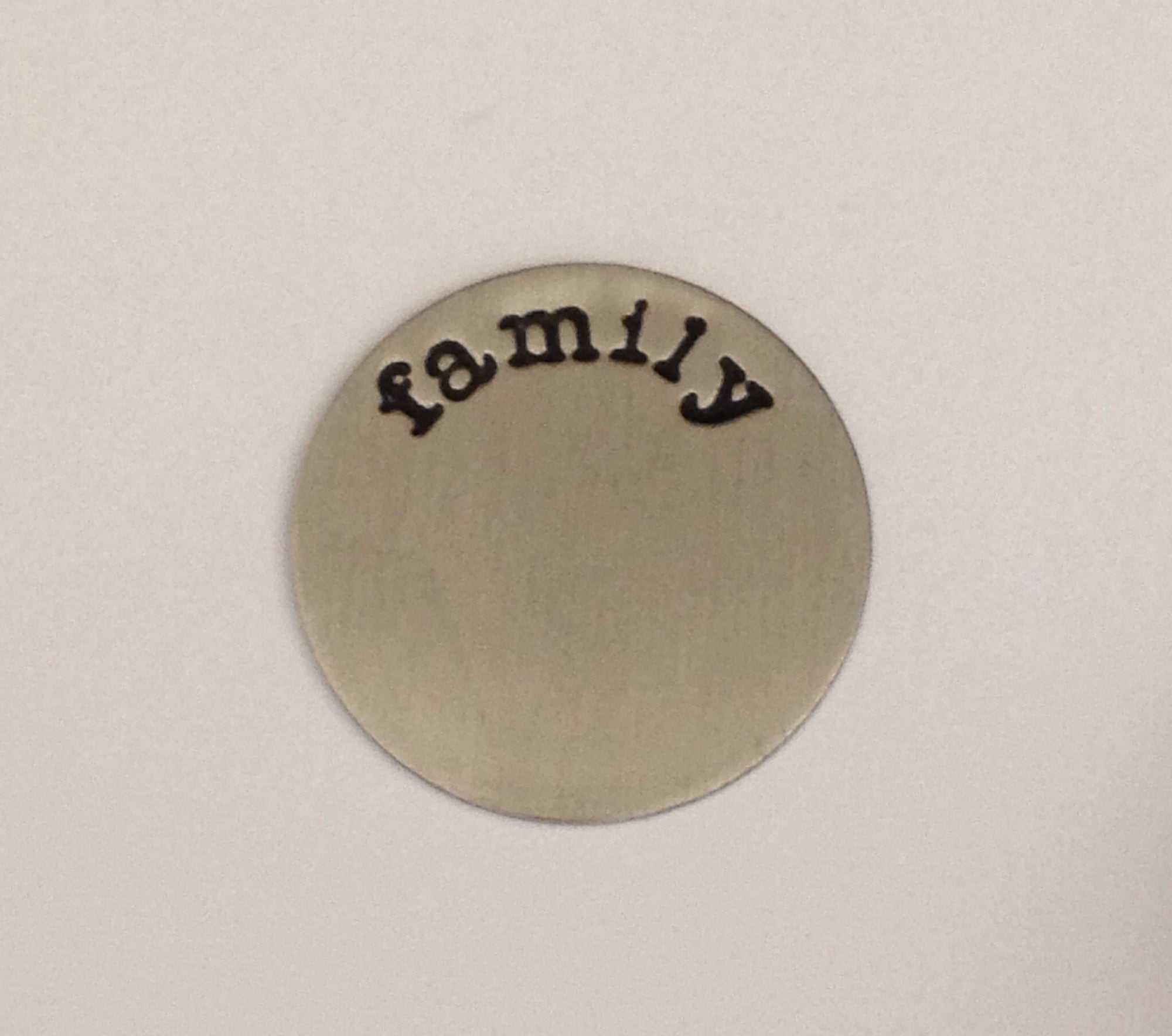 Family Floating Locket Plate
