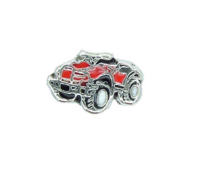 ATV Four Wheeler Floating Charm