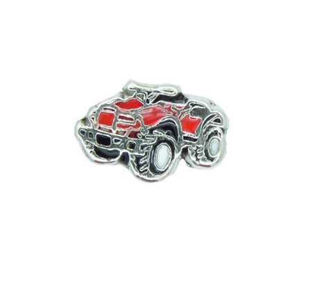 ATV Four Wheeler Floating Charm - Stoney Creek Charms