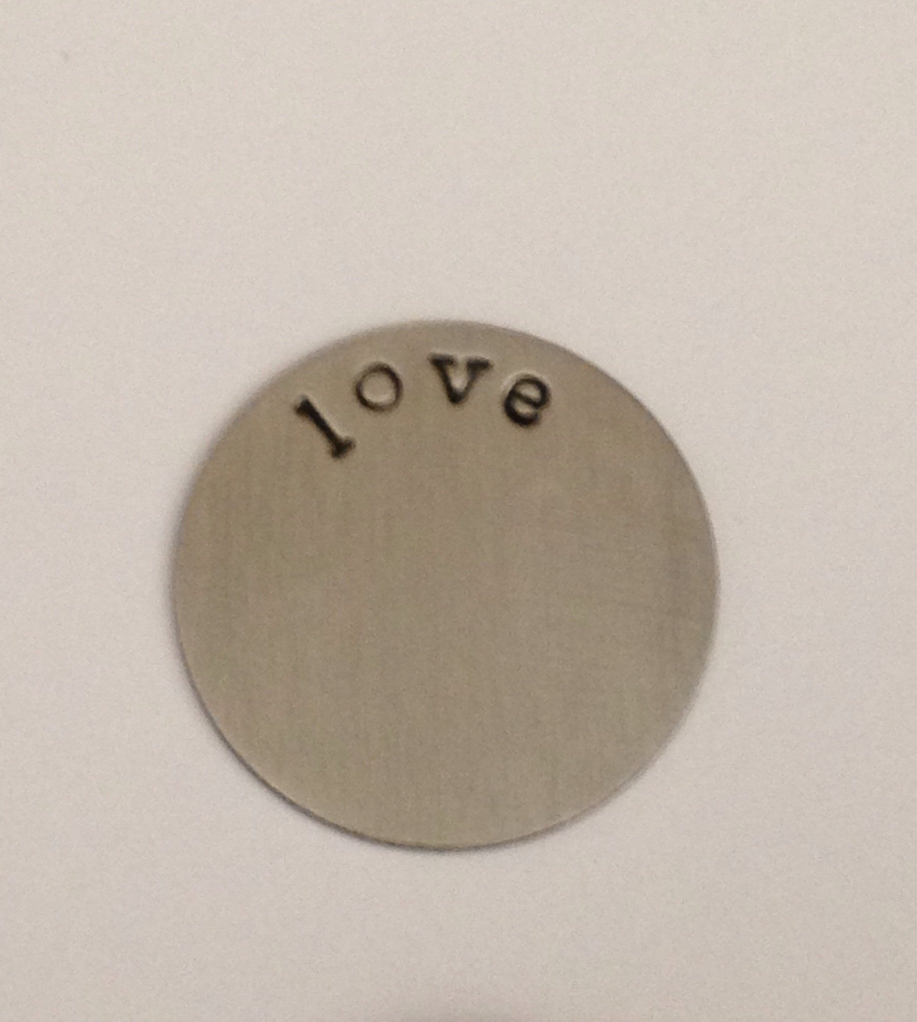 Love Floating Locket Plate