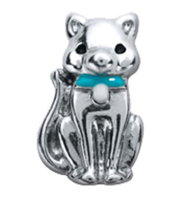 Cat Floating Charm - Stoney Creek Charms - 1