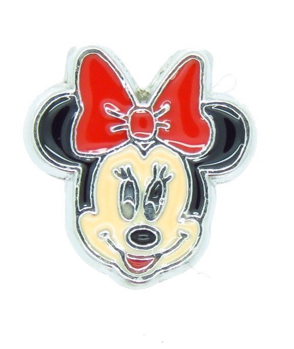 Minnie Mouse Red Bow Floating charm - Stoney Creek Charms