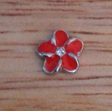 Orange/coral Flower - Stoney Creek Charms