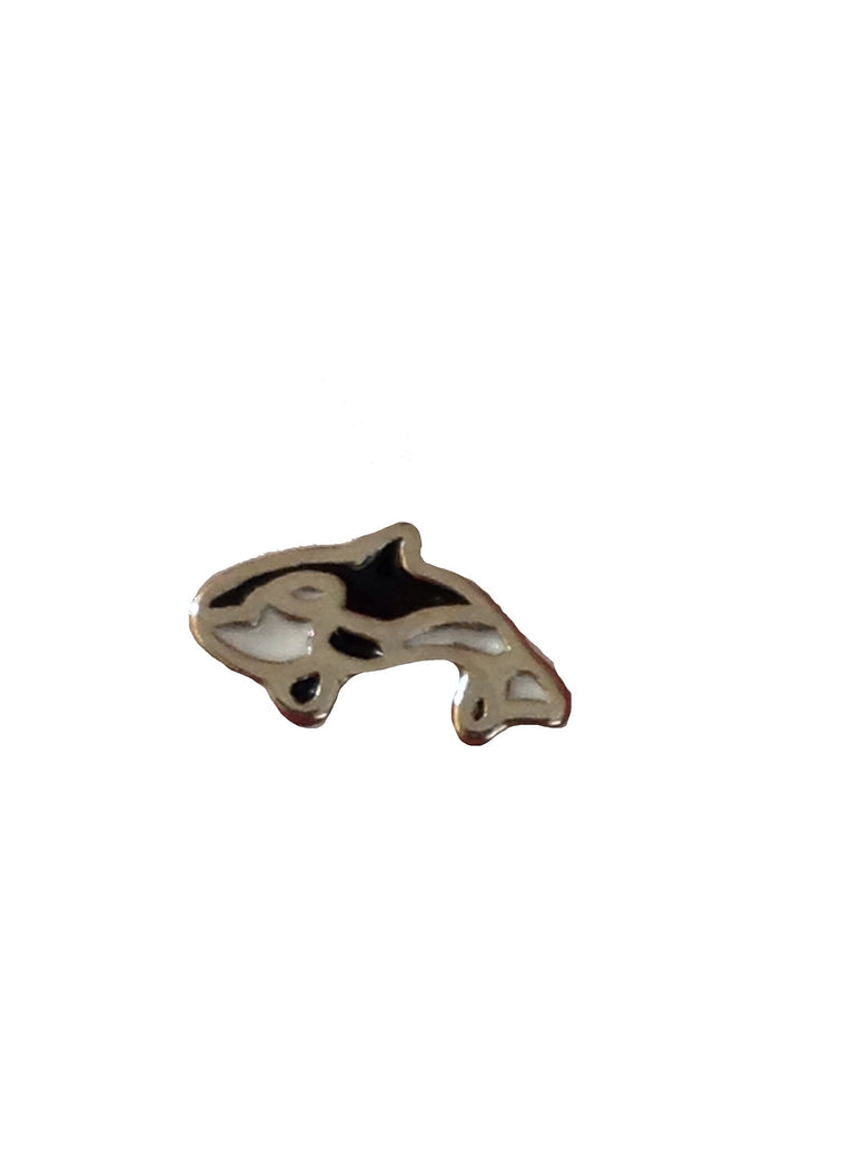 Killer Whale Floating Charm - Stoney Creek Charms