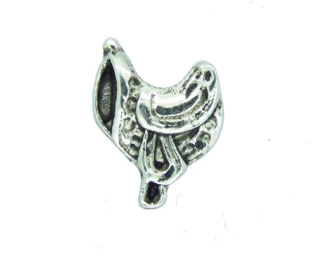 Horse Saddle Floating Charm