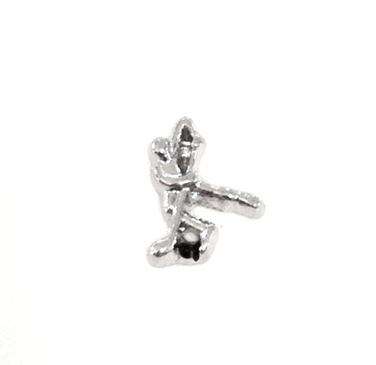 Hockey Player Floating Charm - Stoney Creek Charms