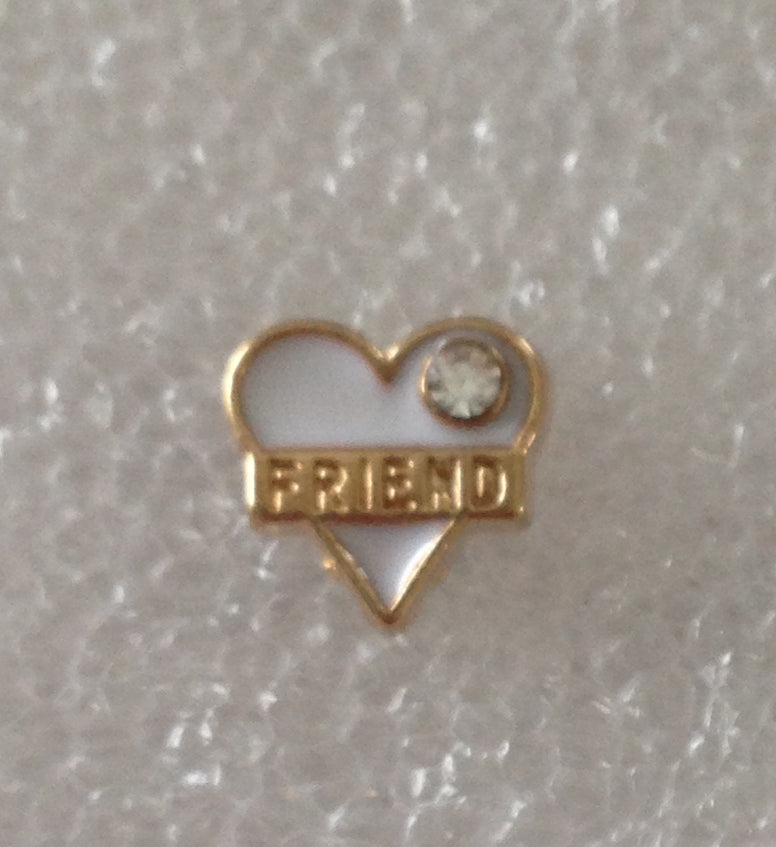 Friend Floating Charm - Stoney Creek Charms
