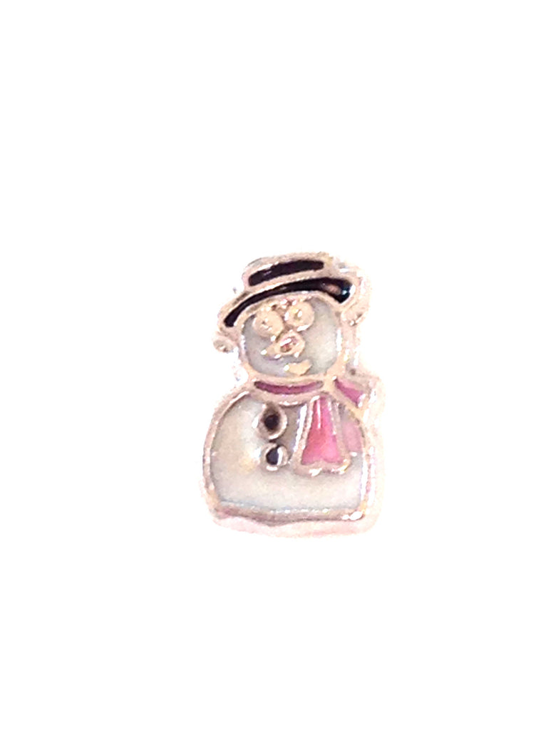 Snowman Floating Charm - Stoney Creek Charms