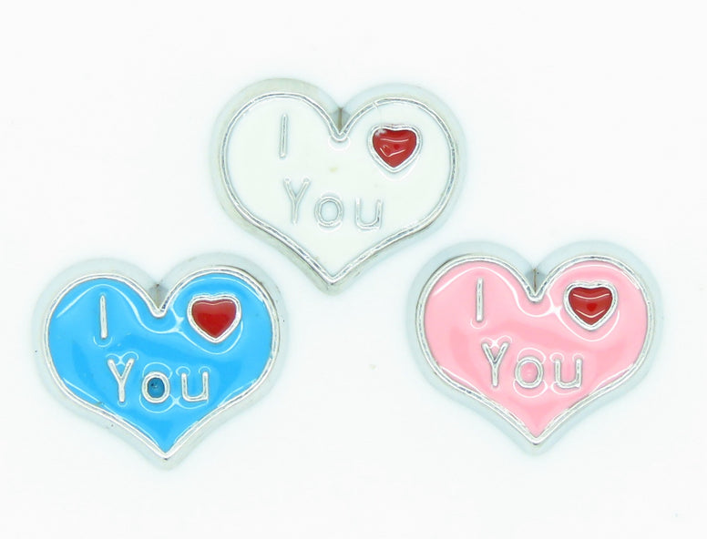 I Love You Charms - Stoney Creek Charms
