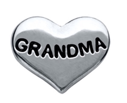Grandma floating locket charm - Stoney Creek Charms