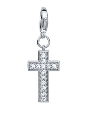 Cross dangle for floating lockets - Stoney Creek Charms
