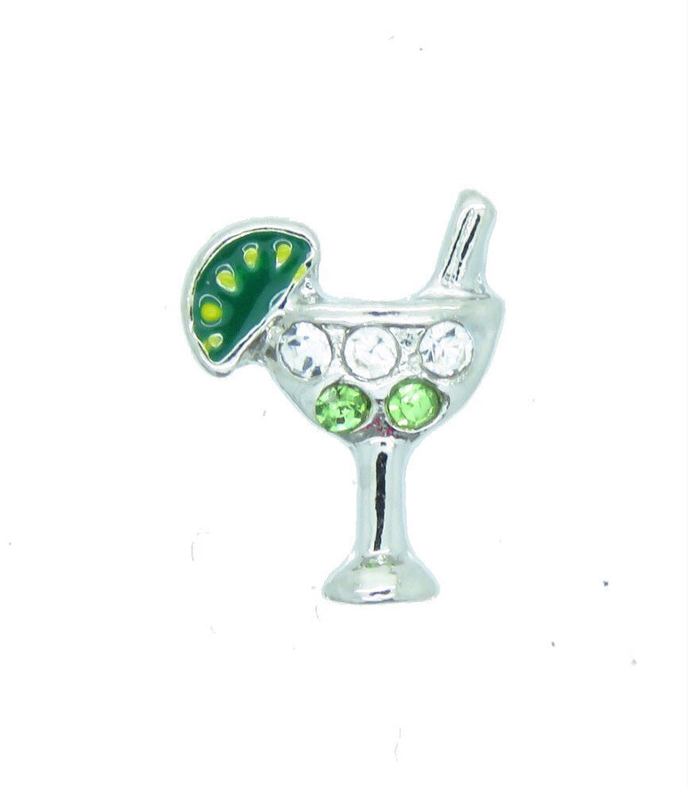 Margarita Floating Charm - Stoney Creek Charms