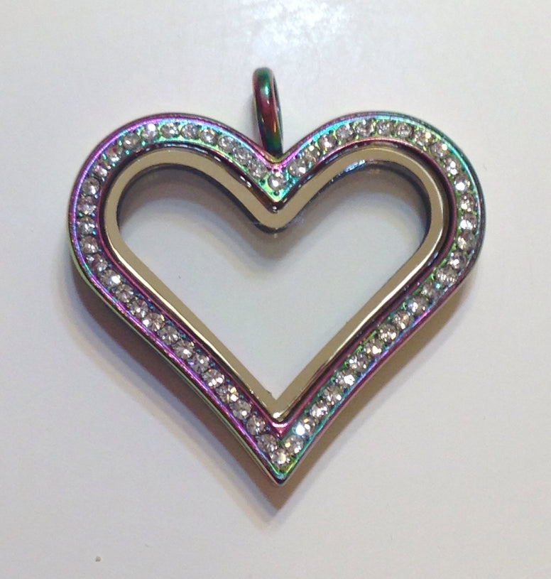 Rainbow Heart - Stoney Creek Charms - 1