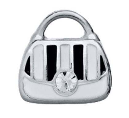 White Purse - Stoney Creek Charms