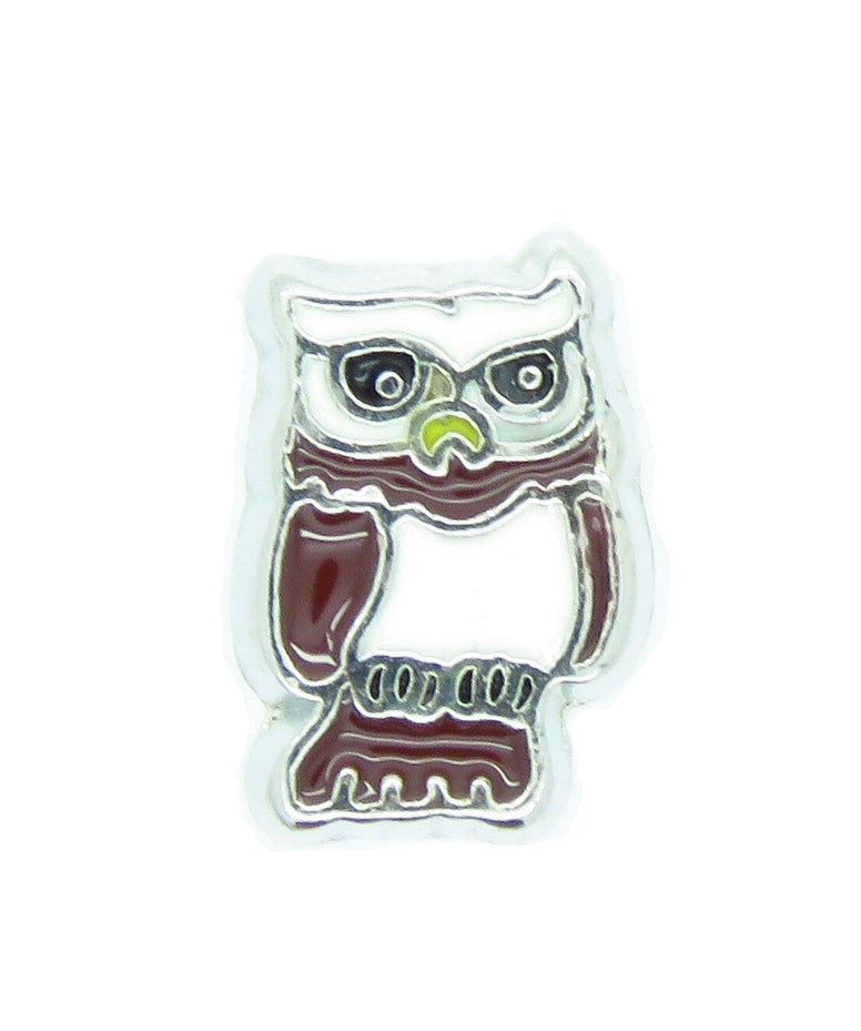 Owl Floating Charm - Stoney Creek Charms