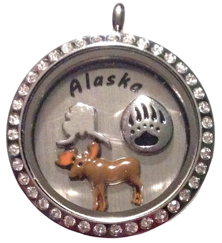 Classic Alaska Locket - Stoney Creek Charms
