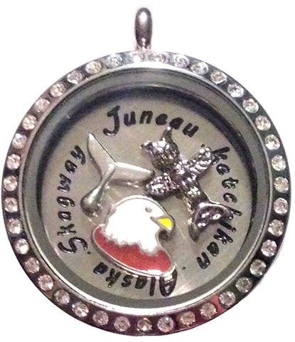 Coastal Alaska Locket - Stoney Creek Charms