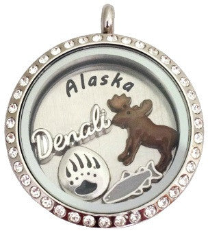 Denali Locket - Stoney Creek Charms
