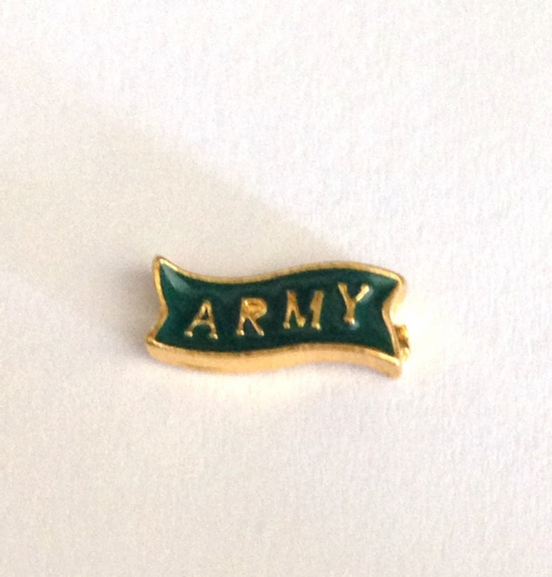 Army Charm - Stoney Creek Charms