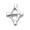 Bow And Arrow Floating Charm - Stoney Creek Charms