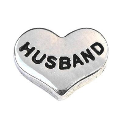 Husband Floating Charm - Stoney Creek Charms