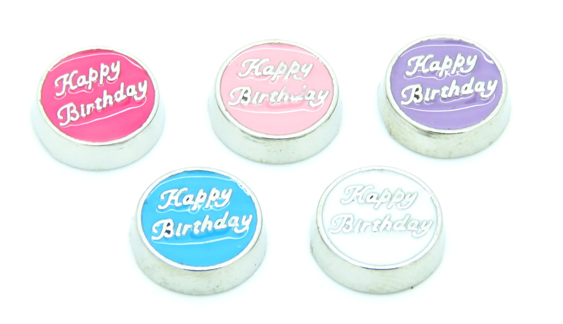 Happy Birthday Charms Stoney Creek Charms Engraving
