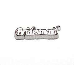 Bridesmaid Floating Charm - Stoney Creek Charms