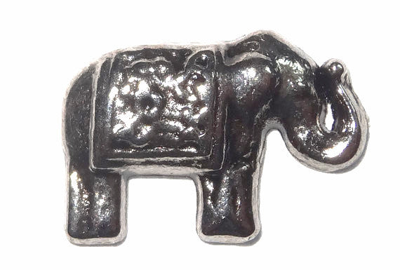 Elephant floating locket charm - Stoney Creek Charms