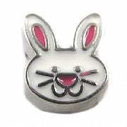 Easter Bunny Floating Charm - Stoney Creek Charms