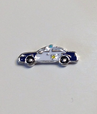 Police Car Charm - Stoney Creek Charms